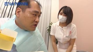 歯科衛生士のおっぱいが顔に当たると好きになっちゃうけどウンコで歯磨きはどうかと(花咲あいら)